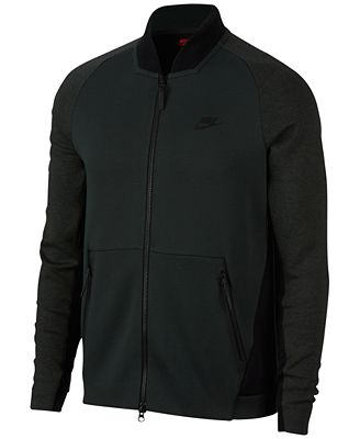 Nike Men's Sportswear Tech Fleece Varsity Jacket - Coats & Jackets ...