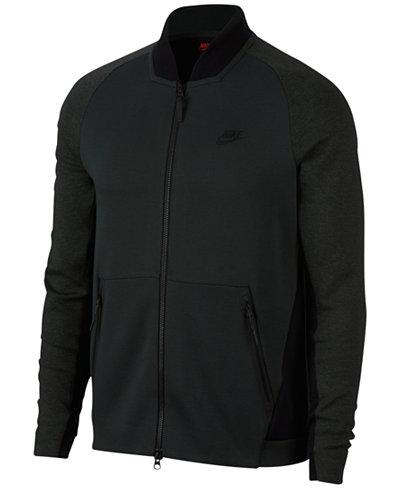 nike men 39 s sportswear tech fleece varsity jacket coats. Black Bedroom Furniture Sets. Home Design Ideas