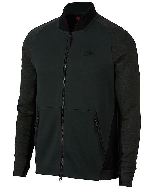 3ebd45260d4f Nike Men s Sportswear Tech Fleece Varsity Jacket   Reviews - Coats ...
