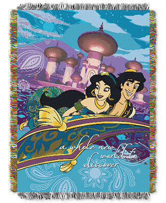 Disney Aladdin Woven Throw Blankets Amp Throws Bed