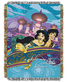 Disney Aladdin Woven Throw