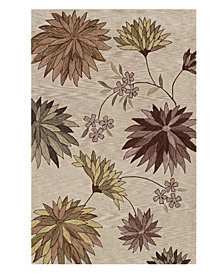 "Dalyn Area Rug, Studio SD5 Ivory 3' 6"" x 5' 6"""