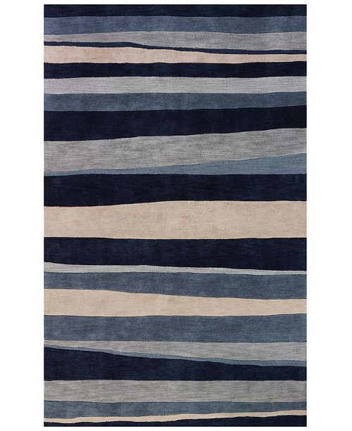 Dalyn Area Rug, Studio SD313 Coastal Blue 9' x 13'