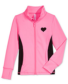 Ideology Athletic Jacket, Little Girls, Created for Macy's