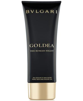 Goldea The Roman Night Bath & Shower Gel, 3.4 oz.