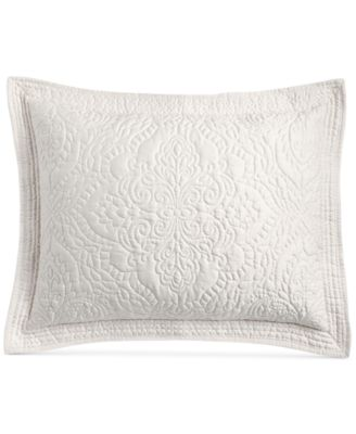 CLOSEOUT! Lush Embroidery Standard Sham, Created for Macy's
