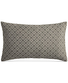 "CLOSEOUT! Hotel Collection Arabesque 14"" x 24"" Decorative Pillow, Created for Macy's"