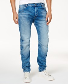 G-Star RAW Men's Slim-Fit Arc 3D  Stretch Jeans
