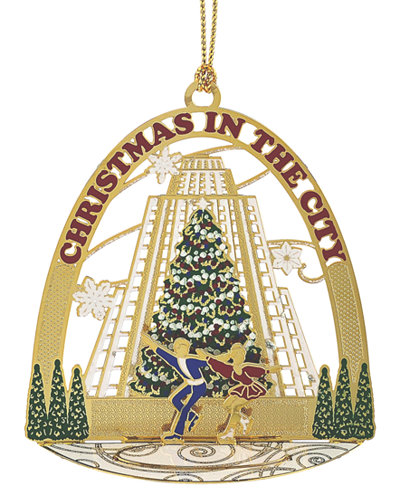 ChemArt Christmas in the City Ornament, Created for