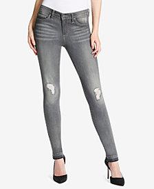 Jessica Simpson Juniors' Kiss Me Destructed Skinny Jeans