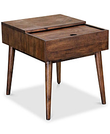 Delina End Table, Quick Ship