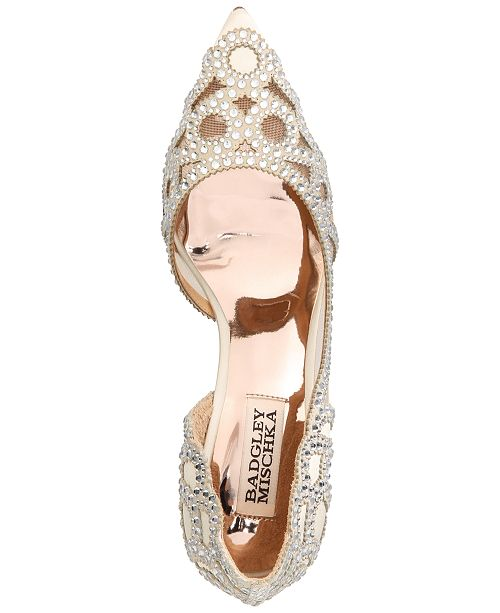 dfa72e96e6d ... Badgley Mischka Marissa Embellished Evening Pumps