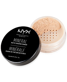 NYX Professional Makeup Mineral Finishing Powder