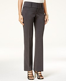 Juniors' Wide-Leg Trouser Pants