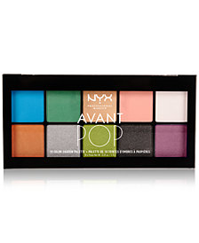 NYX Professional Makeup Avant Pop Art Throb Eye Shadow Palette