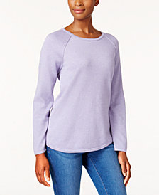 Karen Scott Cotton Rounded Hem, Created for Macy's