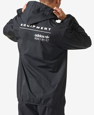 adidas Men's PDX EQT Windbreaker - Coats & Jackets - Men - Macy's