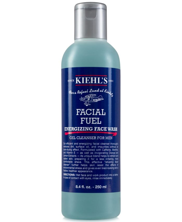 Kiehl's Since 1851 Facial Fuel Energizing Face Wash, 8.4-oz. & Reviews - Skin Care - Beauty - Macy's