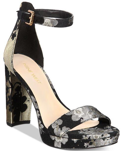 Nine West Dempsey Platform Dress Sandals - Sandals   Flip Flops ... b259dbea4ca7