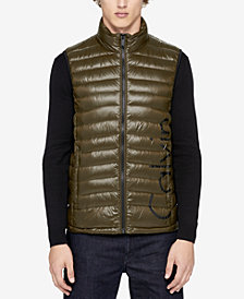 Calvin Klein Men's Logo Packable Puffer Vest