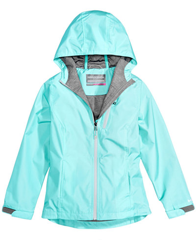 Hawke & Co. Outfitter Hooded Rain Jacket, Little Girls (4-6X ...