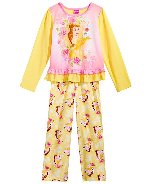 Beauty and the Beast Disney s reg  2-Pc. Belle Pajama Set 5763c234d