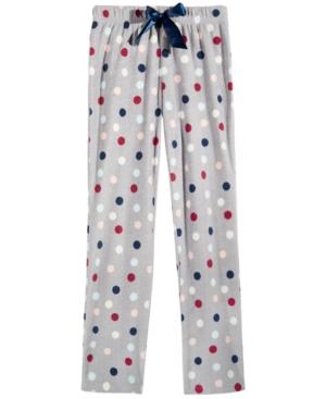 Max  Olivia DotPrint Sleep Pants Little Girls (46X)  Big Girls (716) Created for Macys