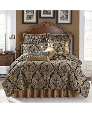 Closeout! Croscill Pennington 4-Pc. Queen Comforter Set Bedding 4734595