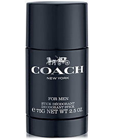 COACH FOR MEN Deodorant Stick, 2.5 oz.