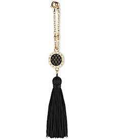 Receive a Complimentary Tassel Charm with any large spray purchase from the BVLGARI Women's Goldea the Roman Night fragrance collection