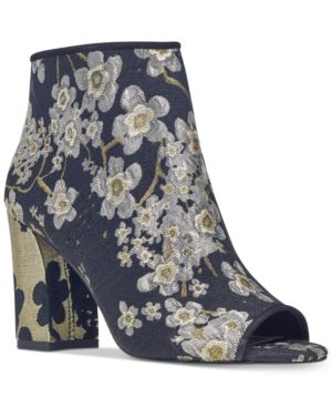 Nine West Haywood Block-Heel Booties Women