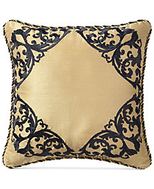 "CLOSEOUT! Croscill Pennington 16"" Square Decorative Pillow"