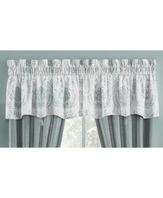 "Eleyana Cotton 54"" x 18"" Canopy Window Valance"