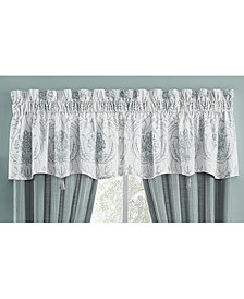 "CLOSEOUT! Croscill Eleyana Cotton 54"" x 18"" Canopy Window Valance"