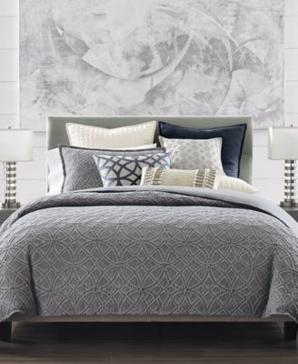 Connection Cotton Indigo Full/Queen Duvet Cover, Created for Macy's