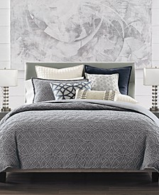 CLOSEOUT! Connections Indigo Bedding Collection, Created for Macy's
