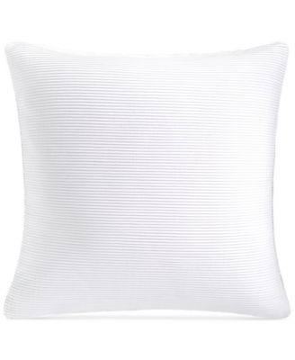 """CLOSEOUT! Greek Key Platinum 20"""" Square Decorative Pillow, Created for Macy's"""