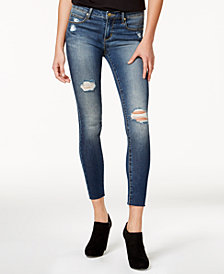 Articles of Society Sarah Ankle Skinny Distressed Jeans