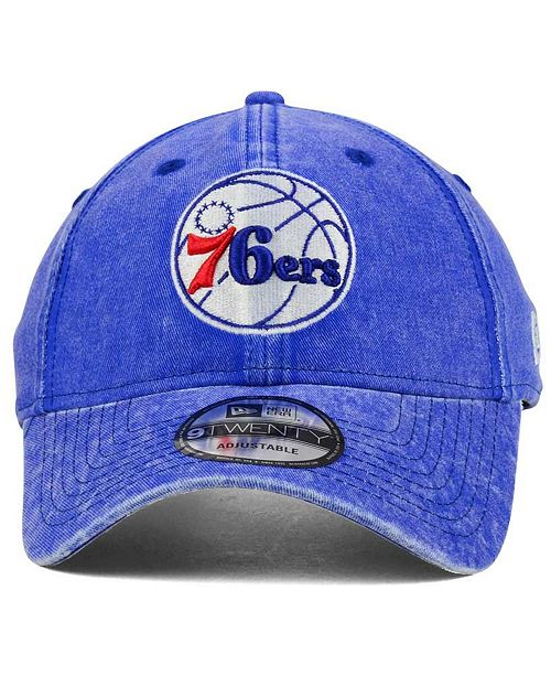 daf89a5f34a New Era. Philadelphia 76ers Italian Wash 9TWENTY Dad Cap. Be the first to  Write a Review. main image  main image  main image ...