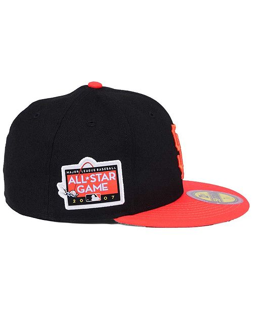 low priced 3ce99 93db5 New Era San Francisco Giants Ultimate Patch All Star Collection 59FIFTY  Fitted Cap ...