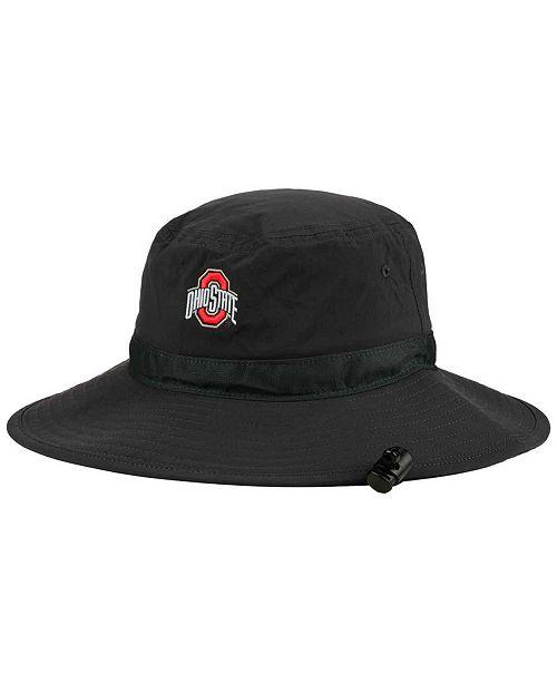 Nike Ohio State Buckeyes Sideline Bucket Hat - Sports Fan Shop By ... 43e75f9d1387