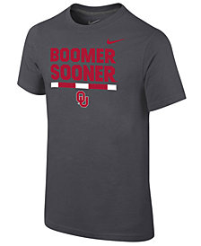 Nike Oklahoma Sooners Local Verbiage T-Shirt, Big Boys (8-20)