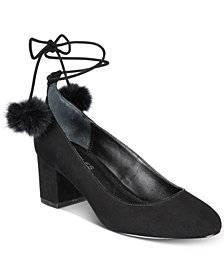 CHARLES by Charles David Libby Pom Pom Pumps