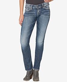 Suki Mid Rise Curvy Straight Jeans