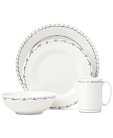 kate spade new york Union Square Doodle 4-Piece Place Setting