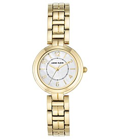Women's Gold-Tone Link Bracelet Watch 28mm
