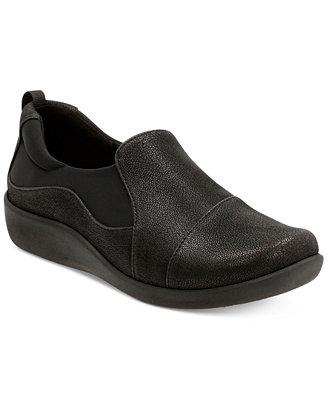 Clarks Sillian Paz Wine Lifestyle Shoes