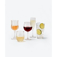 Deals on Martha Stewart Essentials 12-Pc Red Wine Glasses Set