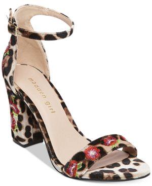 Madden Girl Behave Dress Sandals Women
