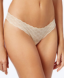 Cosabella Sweet Treats Infinity Sheer Lace Thong TREAT0327